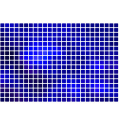 Dark blue abstract rounded mosaic background over vector