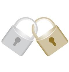 Lock symbol vector