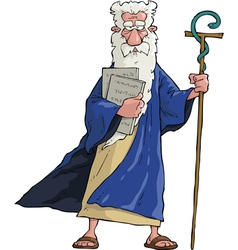 Moses vector image vector image