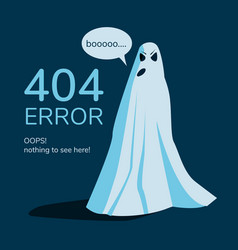 page not found web site error banner vector image