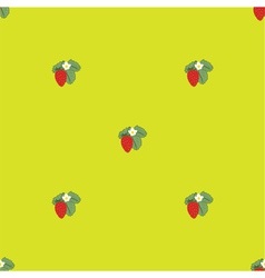 Strawberry pattern1 vector