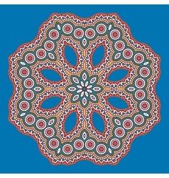 mandala in Oriental style vector image