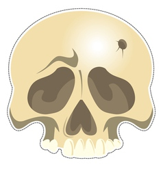Mask Skull vector image vector image
