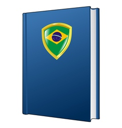 constitution of Brazil vector image vector image