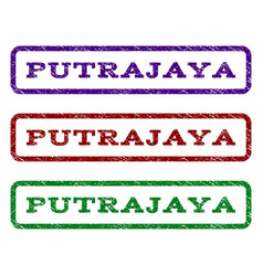 Putrajaya watermark stamp vector