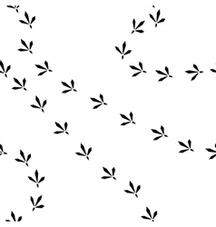 birdprints vector image