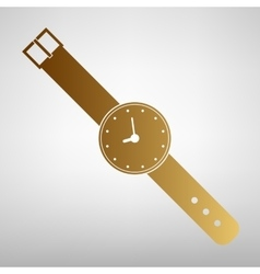 Watch sign flat style icon vector