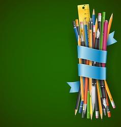 Batch of pencils vector