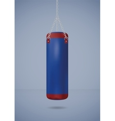 Big punching bag vector