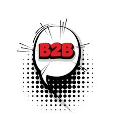 Comic b2bt arrr sound effects pop art vector