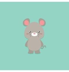 Cute Cartoon mouse vector image vector image