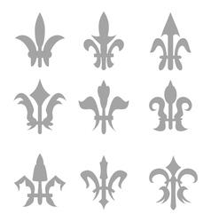 fleur de lis vector image vector image