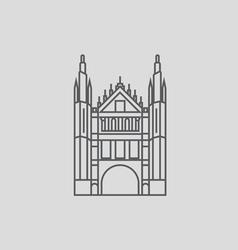 Marischal college vector