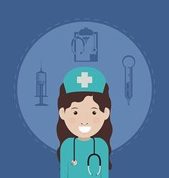 Nurse design vector