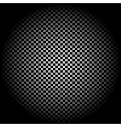 Radial gradient light checkered background vector