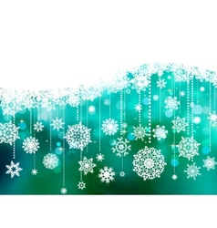 Blue christmas background with copy space eps 8 vector
