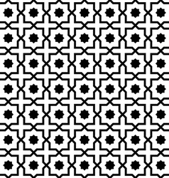 Islamic pattern seamless ornament vector image