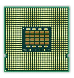 multi core processor vector image vector image