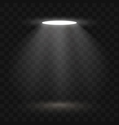 spotlights scene light effects stage light vector image vector image
