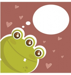 crazy love vector image