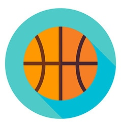 Basketball Circle Icon vector image vector image