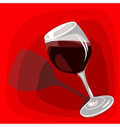 icon with wine vector image vector image