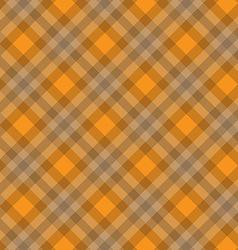 orange fabric pattern geometric background vector image vector image
