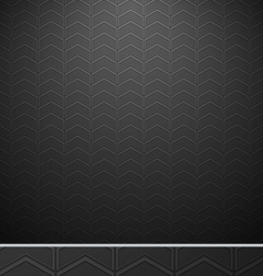 Automotive Chevron zigzag seamless pattern vector image