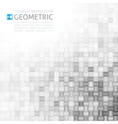 Geometric background vector