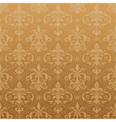 Damask seamless wallpaper vector