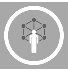 Network icon vector