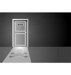 Boss door vector