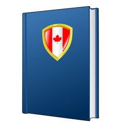 constitution of Canada vector image vector image