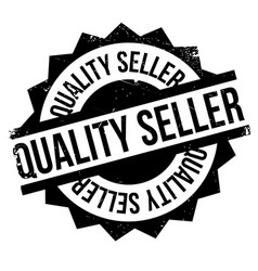 Quality seller rubber stamp vector