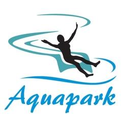 Aquapark symbol vector image