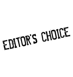 Editor choice stamp vector