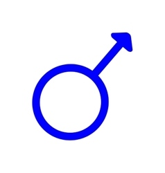 Gender sign spear and shield of mars 410 vector