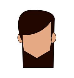 Head of woman avatar icon image vector