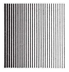 Line shading dark to light tint brightness or vector