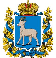 Samara Oblast vector image vector image