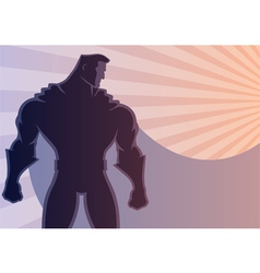 Superhero Background 2 vector image