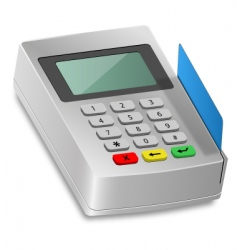 Card reader vector