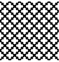 Seamless pattern black white gothic texture vector