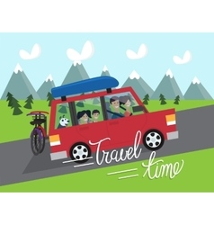 Travel time vacation vector