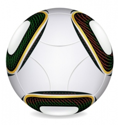 world cup 2010 soccer ball vector image