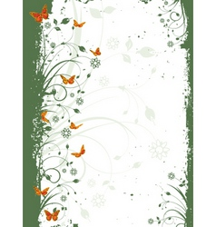 Grunge nature vector