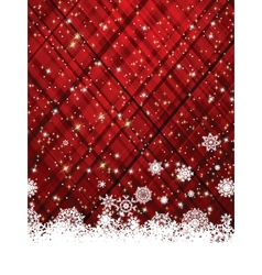 Red christmas background EPS 8 vector image