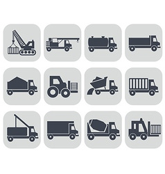 Construction machinery format vector