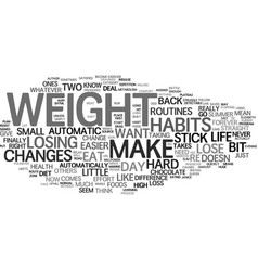 Automatic weight loss text background word cloud vector
