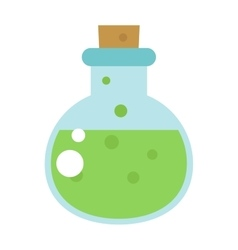 Lab flask vector